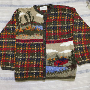 VTG PORTRAITS by Northern Isles Knit Sweater